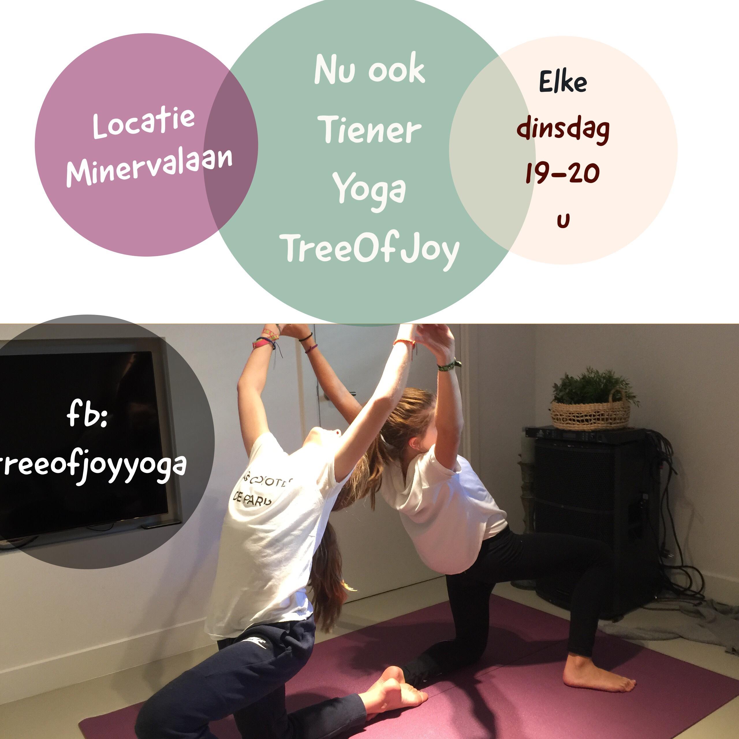 Nu ook TienerYoga in Amsterdam-Zuid